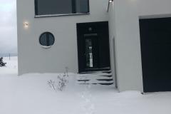 Zasněžený dům